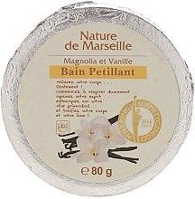 Парфюми, Парфюмерия, козметика Бомбичка за вана с аромат на магнолия и ванилия - Nature de Marseille Magnolias&Vanilla