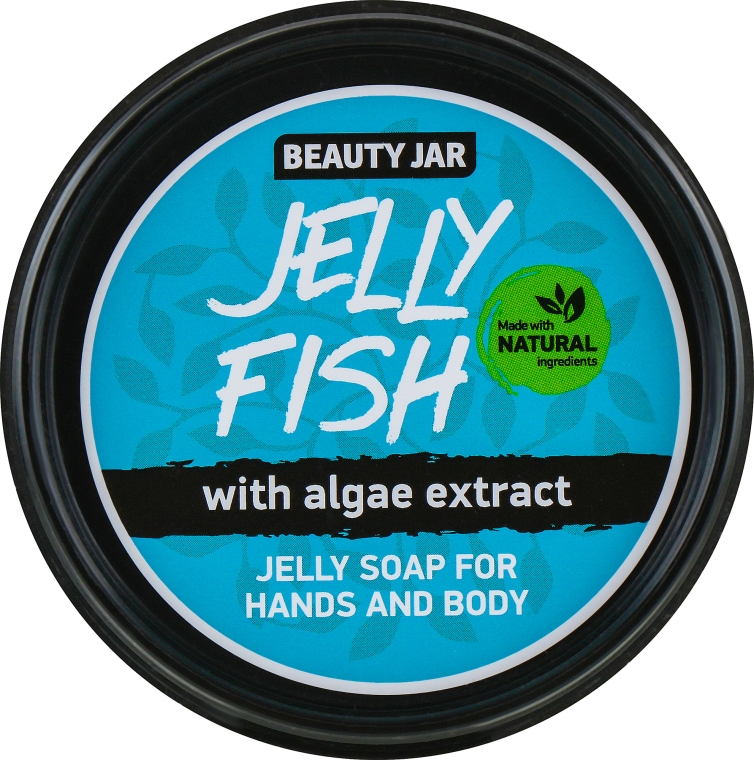"""Желе сапун за ръце и тяло с екстракт от водорасли """"Jelly Fish"""" - Beauty Jar Jelly Soap For Hands And Body"""