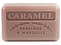 Парфюмерия и Козметика Марсилски сапун с карамел - Foufour Savonnette Marseillaise Karamel