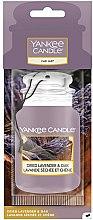 Парфюмерия и Козметика Ароматизатор за автомобил - Yankee Candle Car Jar Dried Lavender & Oak