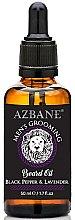 Парфюмерия и Козметика Масло за брада с черен пипер и лавандула - Azbane Mens Grooming Beard Oil Black Pepper & Lavender