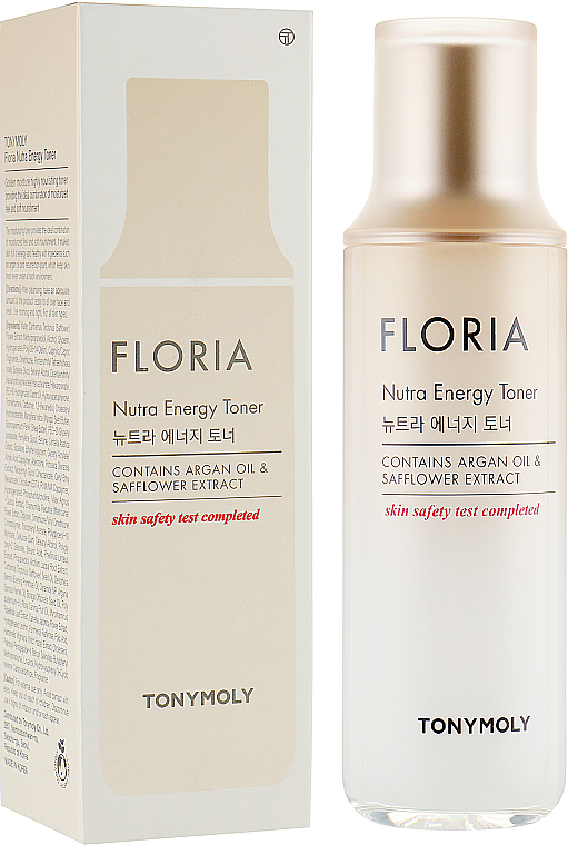 Енергизиращ подхранващ тонер за лице с арганово масло - Tony Moly Floria Nutra Energy Toner With Argan Oil