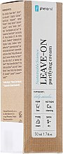Парфюми, Парфюмерия, козметика Почистващ крем за лице - Phenome Leave On Purifying Cream