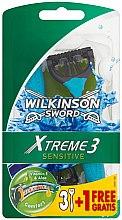 Парфюмерия и Козметика Бритва - Wilkinson Sword Xtreme 3 Sensitive