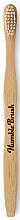 Парфюмерия и Козметика Бамбукова четка за зъби, бяла - Humble Brush