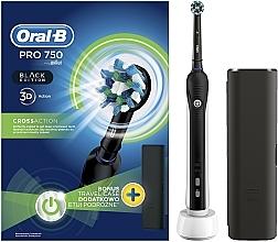 Парфюмерия и Козметика Електрическа четка за зъби - Oral-B Pro 2 2500 Black Edition