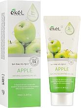 Парфюмерия и Козметика Пилинг-гел за лице с ябълка - Ekel Apple Natural Clean Peeling Gel
