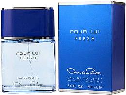 Парфюмерия и Козметика Oscar de la Renta Pour Lui Fresh - Тоалетна вода