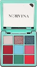 Палитра сенки за очи - Anastasia Beverly Hills Norvina Pro Pigment Mini №3 — снимка N1
