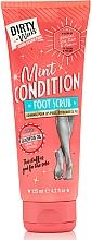 Парфюмерия и Козметика Скраб за крака - Dirty Works Mint Condition Foot Scrub