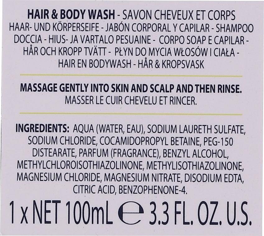 Комплект за мъже - Baylis & Harding Men's Citrus Lime & Mint Bag(hair/body/wash/100ml+face/wash/100ml+a/sh/balm/100ml+acc) — снимка N3