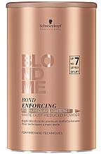 Парфюмерия и Козметика Глинена пудра за изсветляване на коса - Schwarzkopf Professional Blondme Claylightener