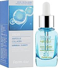 Парфюмерия и Козметика Ампулен серум за лице с колаген - FarmStay DR.V8 Ampoule Solution Collagen