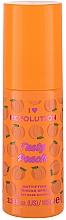 Парфюмерия и Козметика Матиращ спрей основа за лице - I Heart Revolution Tasty Peach Mattifying Priming Spray