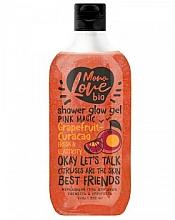 Парфюмерия и Козметика Блестящ душ гел - MonoLove Bio Grapefruit-Curacao Shower Glow Gel