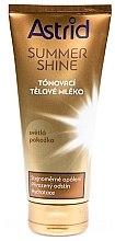 Парфюмерия и Козметика Автобронзиращ лосион за светла кожа - Astrid Summer Shine