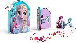 Парфюмерия и Козметика Disney Frozen II - Комплект (тоал. вода/100ml + гланц за устни/6ml + козм. чанта)
