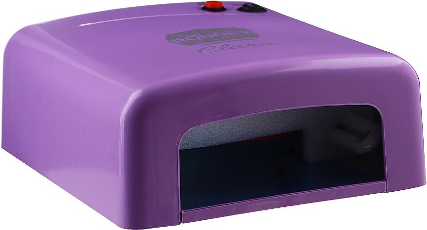 "UV лампа за маникюр ""Clara"", лилава - Ronney Professional UV 36W (GY-UV-818)"