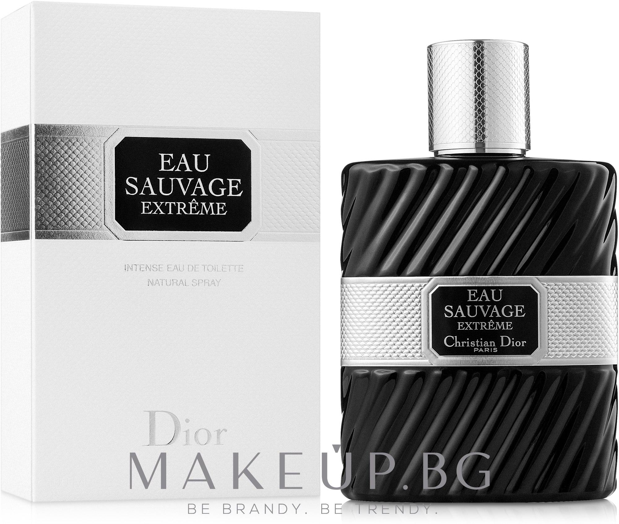 Dior Eau Sauvage Extreme - Тоалетна вода — снимка 100 ml