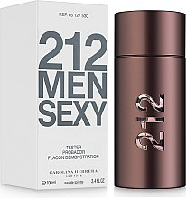 Carolina Herrera 212 Sexy Men - Тоалетна вода (тестер с капачка)  — снимка N2