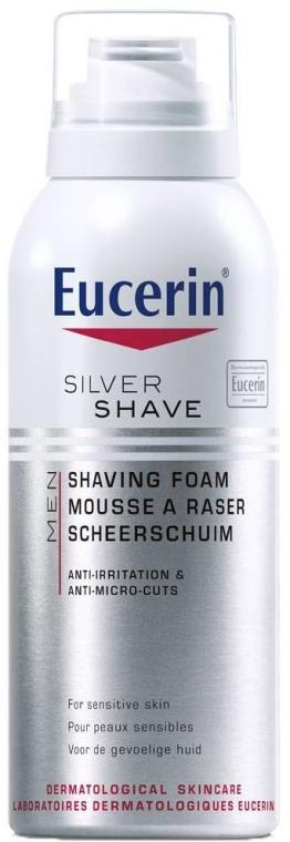 Пяна за бръснене - Eucerin Silver Shave Shaving Foam — снимка N1