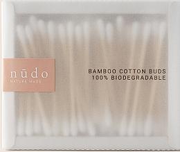 Парфюмерия и Козметика Бамбукови клечки за уши - Nudo Nature Made Bamboo Cotton Buds