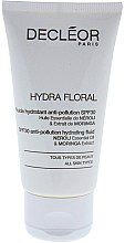 Парфюми, Парфюмерия, козметика Овлажняващ флуид за лице - Decleor Hydra Floral SPF 30 Anti-Pollution Hydrating Fluid (Salon Product)