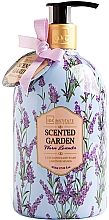 Парфюмерия и Козметика Течен сапун за ръце - IDC Institute Scented Garden Hand Wash Warm Lavender