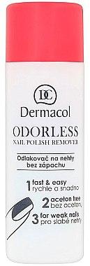 Лакочистител, без аромат - Dermacol Odorless Nail Polish Remover — снимка N1