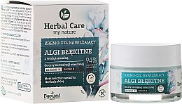 Парфюми, Парфюмерия, козметика Хидратиращ крем за лице - Farmona Herbal Care Blue Algae Cream