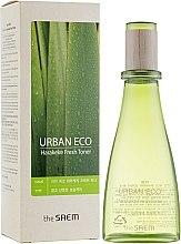 Парфюми, Парфюмерия, козметика Освежаващ тоник за лице с екстракт от новозеландски лен - The Saem Urban Eco Harakeke Fresh Toner