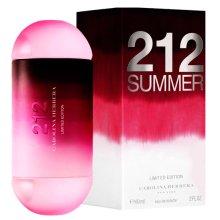 Парфюми, Парфюмерия, козметика Carolina Herrera 212 Summer - Тоалетна вода