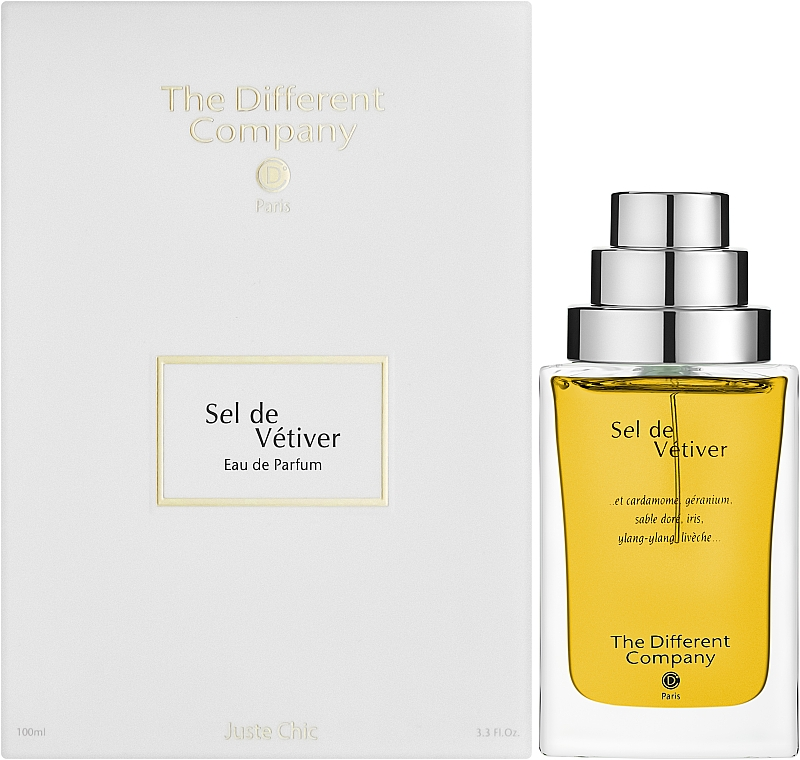 The Different Company Sel De Vetiver - Парфюмна вода — снимка N2