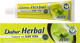 """Парфюми, Парфюмерия, козметика Паста за зъби """"Алое Вера"""" - Dabur Herbal Aloe Vera Toothpaste"""