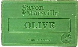 """Парфюмерия и Козметика Натурален сапун """"Маслина"""" - Le Chatelard 1802 Soap Olive"""