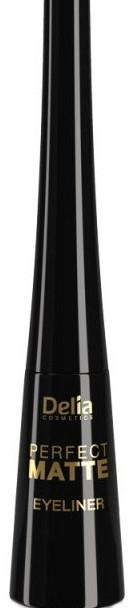 Матова течна очна линия - Delia Cosmetics Perfect Matte Eyeliner — снимка N1