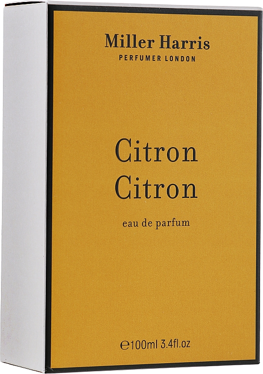 Miller Harris Citron Citron - Парфюмна вода — снимка N2