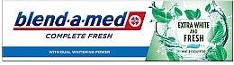 Парфюми, Парфюмерия, козметика Паста за зъби - Blend-a-med Complete Fresh Extra White & Fresh