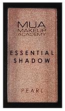 Парфюмерия и Козметика Сенки за очи - MUA Essential Shadow Pearl