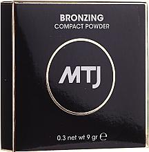 Парфюмерия и Козметика Бронзираща пудра за лице - MTJ Cosmetics Bronzing Compact Powder