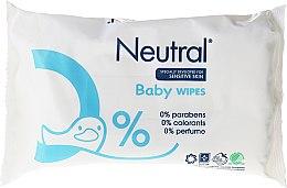 Парфюмерия и Козметика Детски мокри кърпички - Neutral Baby Wet Wipes