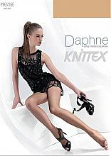 """Парфюмерия и Козметика Дамски чорапогащник """"Daphne"""" 15 Den, beige - Knittex"""