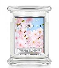 Парфюми, Парфюмерия, козметика Ароматна свещ в бурканче - Kringle Candle Cherry Blossom