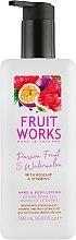 Парфюмерия и Козметика Лосион за ръце и тяло с маракуя и диня - Grace Cole Fruit Works Hand & Body Lotion Passion Fruit & Watermelon