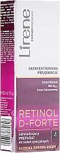 Парфюми, Парфюмерия, козметика Подмладяващ крем за лице и шия - Lirene Retinol D-Forte Rejuvenating Night Treatment