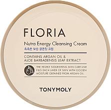Парфюмерия и Козметика Енергизиращ почистващ крем за лице - Tony Moly Floria Nutra-Energy Cleansing Cream