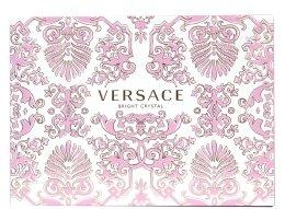 Versace Bright Crystal - Комплект (edt/90ml + b/l/100ml + чанта) — снимка N2