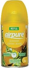 """Парфюмерия и Козметика Освежител за въздух """"Цитрусова енергия"""" - Airpure Air-O-Matic Refill Citrus Zing"""