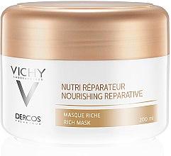Парфюми, Парфюмерия, козметика Подхранваща-регенерираща маска за суха и увредена коса - Vichy Dercos Nutri Repairer Masque