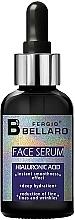 Парфюмерия и Козметика Серум за лице с хиалуронова киселина - Fergio Bellaro Face Serum Hyaluronic Acid